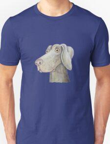 Quirky Weinmaraner in Watercolour T-Shirt