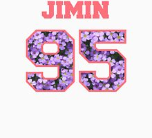 BTS- JIMIN 95 Line Flower Design Women's Relaxed Fit T-Shirt
