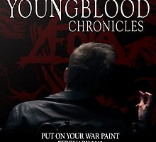 The Youngblood Chronicles Movie Poster by Laura Arteaga