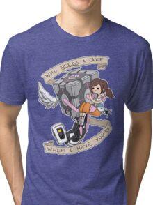 Little Guardian Angel Tri-blend T-Shirt