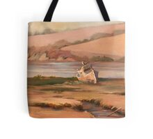 Waiting For the Flood Tote Bag