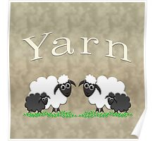Yarn bags & home decor Poster