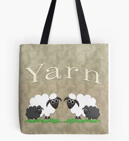 Yarn bags & home decor Tote Bag