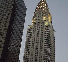 Chrysler Building at Twilight, New York City by lenspiro