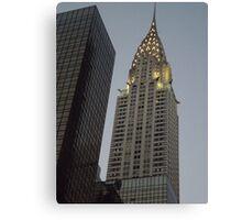 Chrysler Building at Twilight, New York City Canvas Print