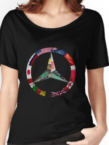Lewis Hamilton Triple World Champion Women's Relaxed Fit T-Shirt