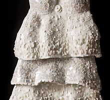 WHITE DRESS by Julee Latimer Mosaics