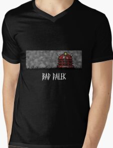 Bad Dalek Mens V-Neck T-Shirt