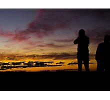 Mt Wilson Sunset Photographic Print