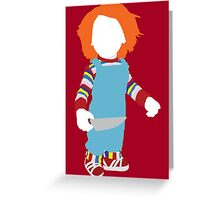 Chucky - Child's Play Greeting Card