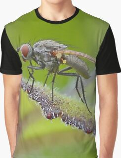 Macro Fly Graphic T-Shirt