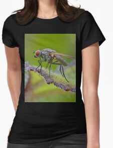 Macro Fly Womens Fitted T-Shirt