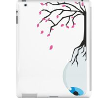The eye of the blue tree  iPad Case/Skin