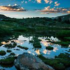 Dusk at the Loveland Ponds by Paul Gana