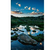 Dusk at the Loveland Ponds Photographic Print