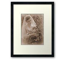 Come Into The Garden, Maude  Framed Print