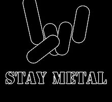 Stay Metal by MarkusDarkness