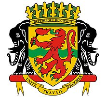 Republic of the Congo Coat of Arms Photographic Print