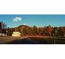 Small Country Church Photographic Print