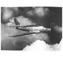 Canadair CL-13 Sabre Mk. 4 Poster