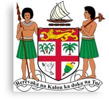 Fiji Coat of Arms  Canvas Print