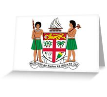 Fiji Coat of Arms  Greeting Card