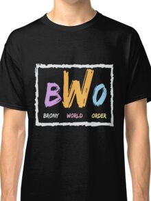 Brony World Order Classic T-Shirt