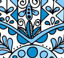 Never Enough Hamsas - Blue Sticker
