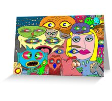 I think the eyes have it! Greeting Card