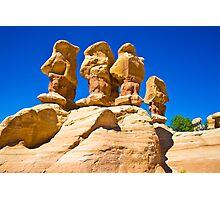 Hoodoos In Devil's Garden Near Escalante Utah Photographic Print