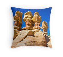 Hoodoos In Devil's Garden Near Escalante Utah Throw Pillow