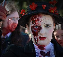 Children Beware - Mary Zombie Poppins by Les Unsworth