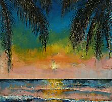 Tropical Sunset by Michael Creese