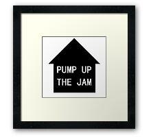 MaxNormal.tv PUMP UP THE JAM Framed Print