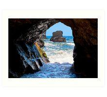 Out To Sea - Northern California Coast Art Print