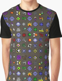 Spell Book Graphic T-Shirt