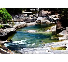 Down the river - Babinda Boulders Photographic Print