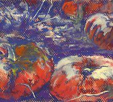 Bitter Harvest (pastel) by Niki Hilsabeck
