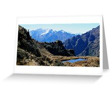 Inca Trail - Highest Pass 4200mt Greeting Card