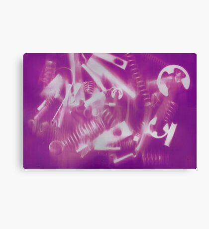 Mechanical Christmas Canvas Print