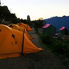 Inca Trail - Cliff side camp by Torchwood