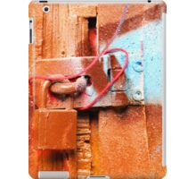 Lock it up iPad Case/Skin