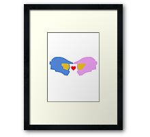 Spartan Love (Halo) Framed Print