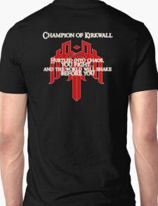 Champion of Kirkwall v.2 T-Shirt