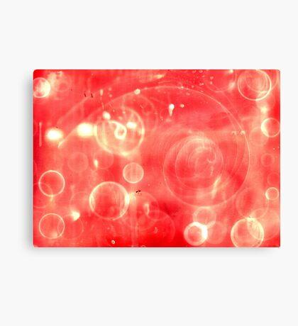 Galactic Noise Canvas Print