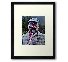 Sherlock Zombie Framed Print