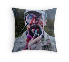 Sherlock Zombie Throw Pillow