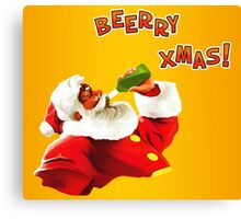 Beerry Xmas! Canvas Print