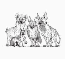 Hyenas - Light T-Shirt