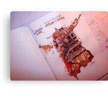 Asylum of the Daleks - Clara Oswin  Canvas Print